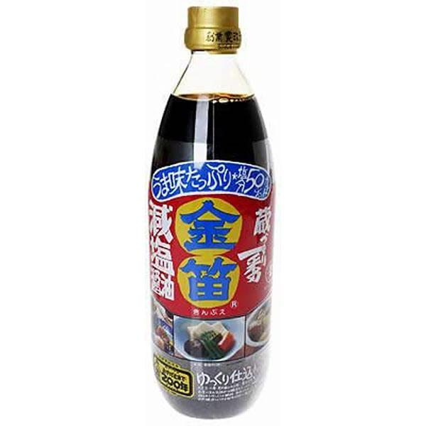 笛木醤油 / 金笛 減塩醤油